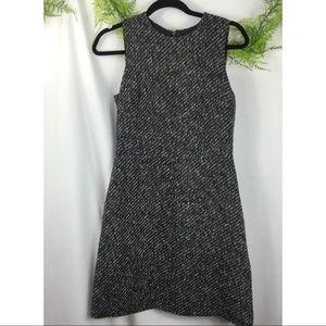 Theory Tweed Sleeveless Dress Size 4